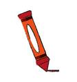 crayon school supply icon image vector image vector image