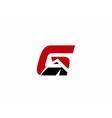 Letter G logo design vector image vector image