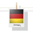 photo of germany flag vector image
