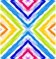 Seamless geometric pattern Colorful polygonal vector image vector image