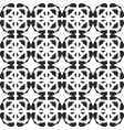 tile black and white background or seamless celtic vector image