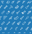 tileable tools background texture vector image vector image