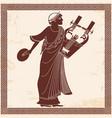 ancient greek god vector image