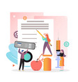 diabetes concept for web banner website vector image
