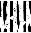 Hand darwn black ink line and splash vector image vector image