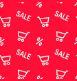 hot sale concept in flat style vector image