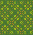 line flower geometric seamless pattern 7608 vector image