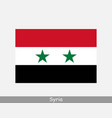 syria syrian national country flag banner icon vector image vector image