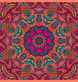 colorful tribal ethnic festive abstract floral vector image