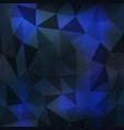 dark triangle geometric seamless pattern vector image