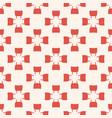 floral autumn terracotta organic vintage pattern vector image vector image