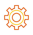 gear wheel icon vector image vector image
