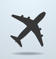 Icon of Plane vector image vector image