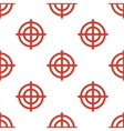 Red Targets seamless pattern