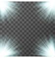 spotlight vector image vector image