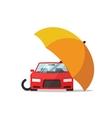 Car insurance concept auto protection vector image