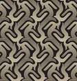 brown pattern seamless vector image vector image