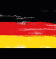 germany colorful brush strokes painted flag vector image