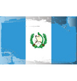 Guatemala national flag vector image vector image