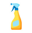 icon bottle spray means for washing vector image vector image