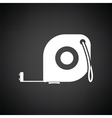 Icon of constriction tape measure vector image vector image