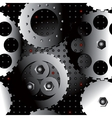 asterix metallic seamless vector image