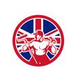 british handyman union jack flag icon vector image vector image