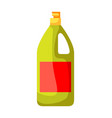 icon bottle means for washing vector image vector image