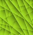 Abstract Green Geometric Background vector image vector image
