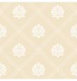 Classic floral wallpaper vector image
