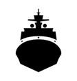 icebreaker ship vector image vector image