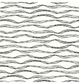 Seamless pattern with abstract doodle wavy vector image