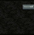 seamless texture of black vector image vector image