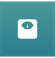weighting apparatus icon vector image vector image