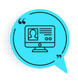 black line create account screen icon isolated on vector image vector image