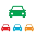 Car sign Colorfull set vector image vector image
