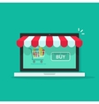 Concept of online shop e-commerce internet store vector image