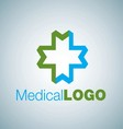 MEDICAL LOGO 16 vector image vector image