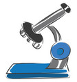 microscope or color vector image vector image