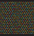 multicolored triangle pattern seamless bright vector image
