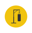 Punching bag icon vector image vector image