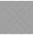 seamless black and white lines pattern vector image vector image