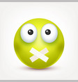 smileyangrysademoticon green face with vector image