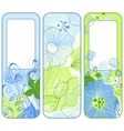 stylish spring banners vector image