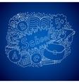 School doodle object vector image