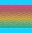 abstract rainbow wavy seamless pattern vector image vector image