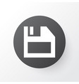 diskette icon symbol premium quality isolated vector image
