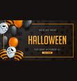 halloween 33 vector image vector image