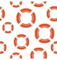 Lifebuoy background vector image