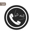 phone alo icon in trendy flat style isolated on vector image vector image